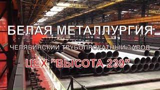 Самый современный трубопрокатный цех. ЧТПЗ, Челябинск, Россия. Высота 239