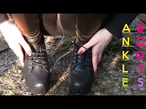 Cora´s new Ankle Boots - Blockabsatz plateau High Heels&Leggings online kaufen 2014