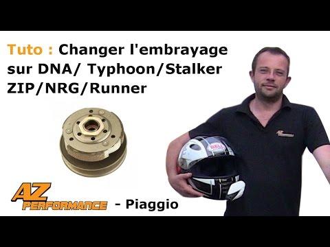 Changer le l'embrayage et/ou le correcteur de son Typhoon / Stalker / Zip / ...