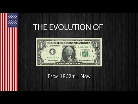 Check Out The Evolution Of The US Dollar Bill