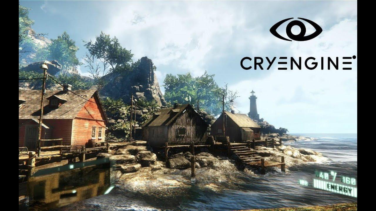 Tuto CryEngine Partie 1 Assets+base formation de terrain