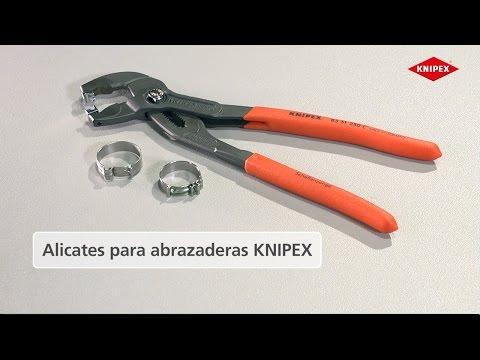 KNIPEX Alicate para abrazaderas para abrazaderas Click