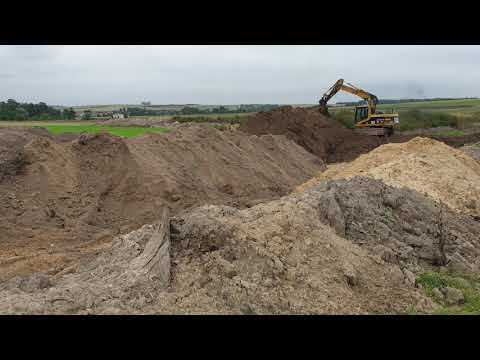 Prace archeologiczne km 1+200