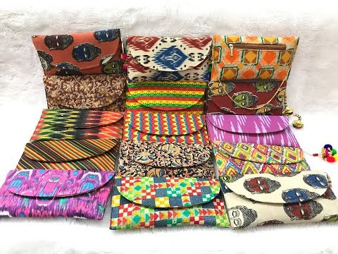 Ikat Designer Ladies Clutch