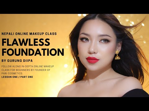 FLAWLESS MAKEUP BASE | Free Online Makeup Class [Part 1] by GDiipa