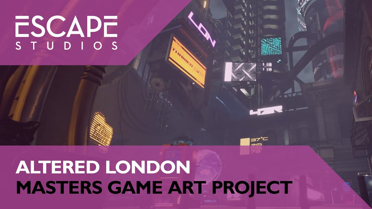 Altered London: Game Art Masters Group Project