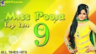 Miss Pooja Top 10 All Times Hits Vol 9  NonStop HD Video  Punjabi New Hit Song 2016