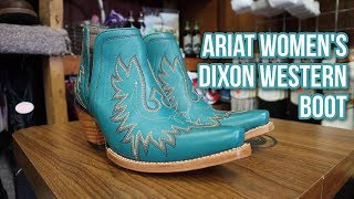Dixon Womens Western Boots From Ariat!