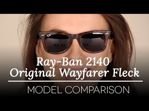 Ray-Ban 2140 Original Wayfarer Fleck-  Ray-Ban Sunglasses Model Review