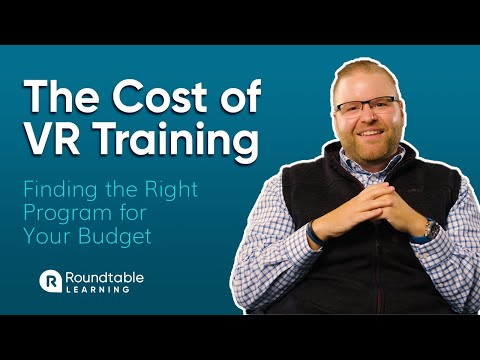Cost of Virtual Reality Training - YouTube