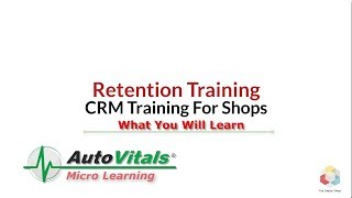 01 Retention Training