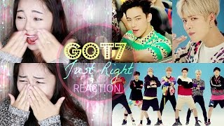 GOT7 JUST RIGHT 딱 좋아 MV REACTION (SIGNED POSTER GIVEAWAY)