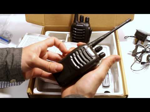 Baofeng Walkie Talkie Review – Safety Warning and Test