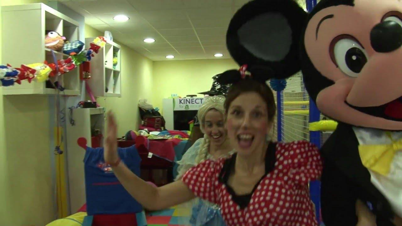 Fiestas de Princesas Disney para niñas en cumpleaños infantiles