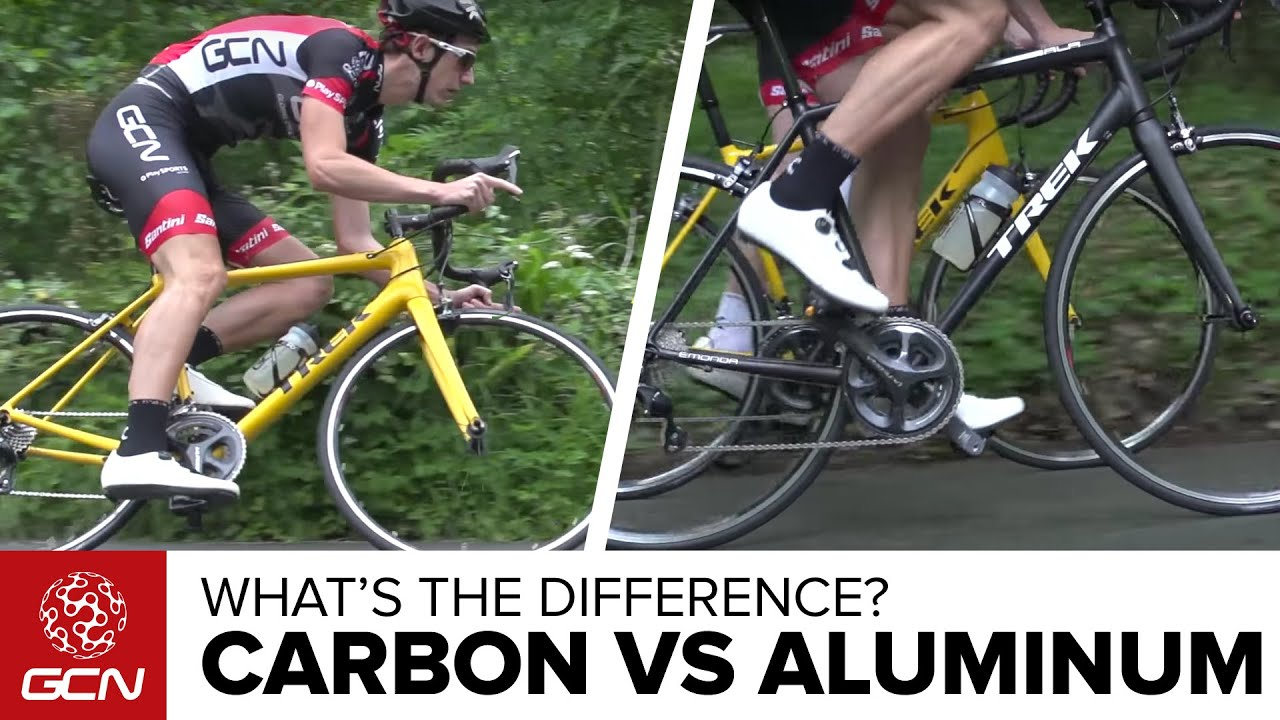 אופניי קרבון בהשוואה לאלומיניום | מה ההבדל על הכביש?