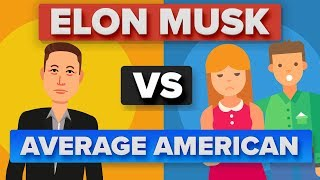 Elon Musk vs Average American: How Do They Compare? - Video Youtube