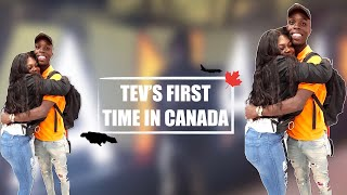 Tev's First Time in Canada ! Long DIstance Is Over!  Jamaican Couple | Tev and Tee