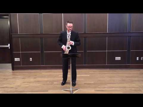 Syrinx, pour flute by Debussy. Performed by Dr. Carl Spaeth, alto saxophone. 3-26-19.