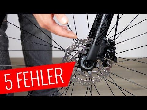 Fahrrad Scheibenbremse - 5 größte Fehler - Fahrrad.org
