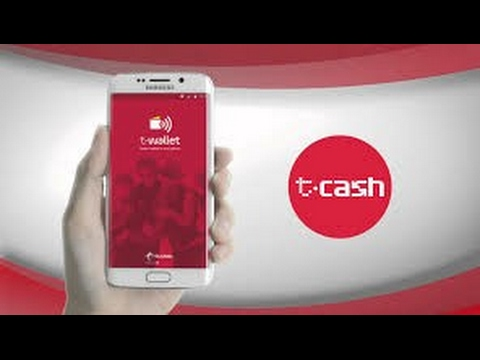 Video How to use T-Cash Tap Telkomsel, Payment using mobile NFC Indonesia || Real Mobile Payment