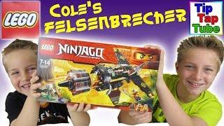 Lego Ninjago 70747 Cole's Felsenbrecher Spielzeug auspacken aufbauen spielen Kanal für Kinder