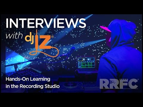 DJ IZ: Hands On Learning In the Recording Studio