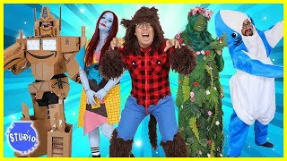 HALLOWEEN COSTUMES RUNWAY CONTEST CHALLENGE ! Who Do You Think Had The Best Costume!