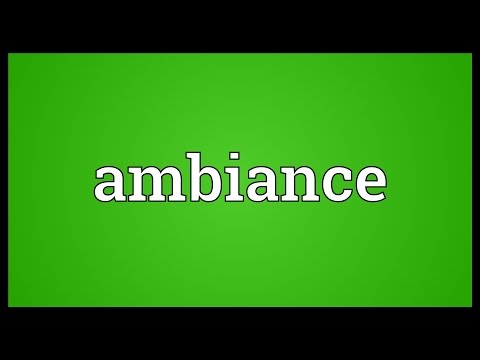 ambient tamil meaning
