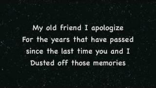 My Old Friend~Tim McGraw Lyrics