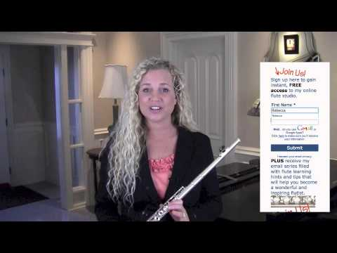 Free Flute Lessons Learn Flute Online
