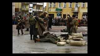 preview picture of video 'Przasnysz 1915 - Inscenizacja bitwy lutowej'