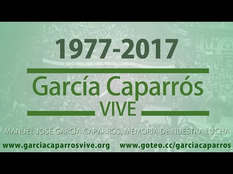El documental sobre García Caparrós se estrenará en el Albéniz
