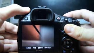 New Camera Sony Alpha SLT 65