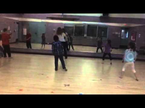 Naren dance practice 2