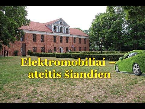L.Jokužis:Elektromobiliai – ateitis šiandien