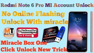 XIAOMI Redmi NOTE 6 Pro || BYPASS MI ACCOUNT || GOOGLE