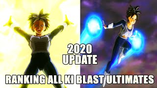 RANKING ALL KI BLAST ULTIMATES BY DAMAGE FROM WEAKEST TO STRONGEST XENOVERSE 2 | 2020 UPDATED