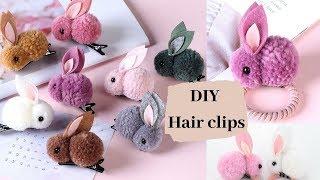 Cute DIY Handmade Hairbands / Adorable Bunny Doll Hairbands For Girls /Craft Ideas BY Aloha Crafts