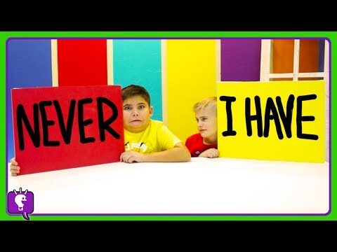 NEVER HAVE I EVER Challenge! Part 1 with HobbyKidsTV