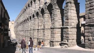 The Great Roman Aqueduct at Segovia