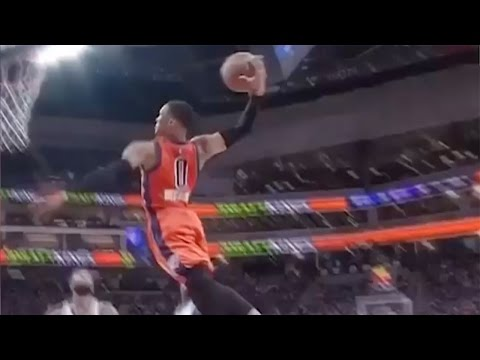 Russell Westbrook BURIES Kings with Killer Dunk, 20th Triple-Double - Unanimous MVP?