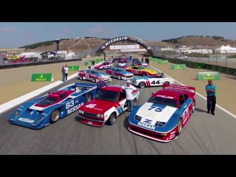Nissan And Datsun Race Cars At Monterey Motorsports Reunion 2018