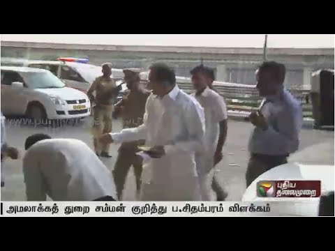 P-Chidambaram-refutes-reports-that-his-son-Karthi-Chidambaram-refused-to-appear-for-enquiry