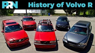 History of Volvo R & Polestar High Performance Cars