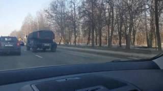Класная машинка на ул.Свобода в Москве.