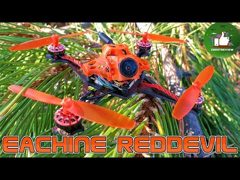 ✔ FPV Квадрокоптер - Eachine RedDevil 105mm 2-3S. Зубочистка! Caddx EOS2 + 200mw!