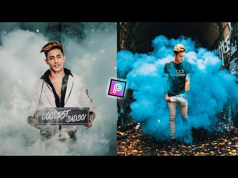Edit Like Danish Zehen - PicsArt Vijay Mahar Smoke Effect || Mobile