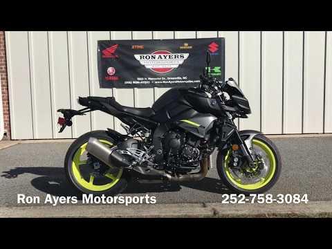 2018 Yamaha MT-10 in Greenville, North Carolina