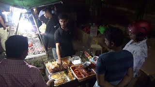 INDIAN STREET FOOD Tour in VIZAG with KEBABLICIOUS BBQ CHICKEN and CHEAP SPICY