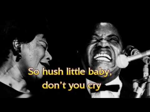 Ella Fitzgerald & Louis Armstrong - Summertime - with lyric